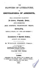 The Flowers Of Literature Or Encyclop Dia Of Anecdote A Coll By W Oxberry