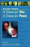 Pdf A Star Trek: The Next Generation: Time #9: A Time for War, A Time for Peace Telecharger