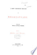 A New Variorum Edition of Shakespeare Pdf/ePub eBook