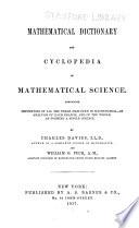 Mathematical Dictionary Book