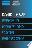Papers in Ethics and Social Philosophy: