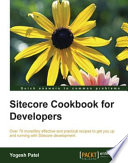 Sitecore Cookbook for Developers