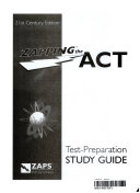 Zapping the ACT