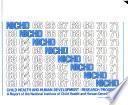 Child Health and Human Development  Research Progress Book