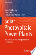 Solar Photovoltaic Power Plants Book