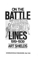 On the Battle lines  1919 1939 Book