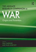 The Ashgate Research Companion to War Pdf/ePub eBook