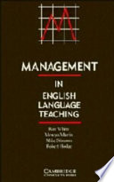 Cover of Management in English Language Teaching