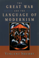 The Great War and the Language of Modernism Pdf/ePub eBook