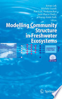 Modelling Community Structure in Freshwater Ecosystems Book
