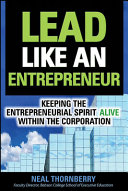 Lead Like an Entrepreneur