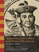 Pdf Account of the Fables and Rites of the Incas Telecharger