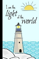 I Am the Light of the World  John 8 12 Personalised Homework Book Notepad Notebook Composition and Journal Gratitude Diary Bible Jesus Christian Gi