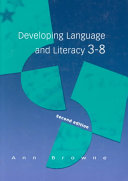 Cover of Developing language and literacy 3-8