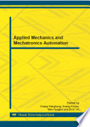 Applied Mechanics and Mechatronics Automation Book