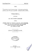 The South Western Reporter