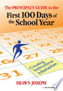 The Principal S Guide To The First 100 Days Of The School Year PDF