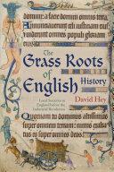 The Grass Roots of English History Pdf/ePub eBook