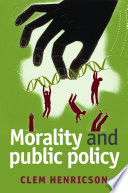 Morality and public policy