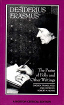 Cover of The Praise of Folly and Other Writings