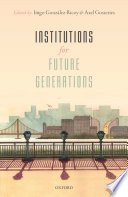 Institutions for Future Generations