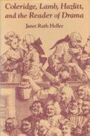 Pdf Coleridge, Lamb, Hazlitt, and the Reader of Drama