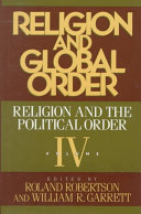 Religion and global order - Seite 20