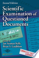 Scientific Examination of Questioned Documents Book
