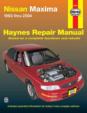 Nissan Maxima 1993 thru 2004