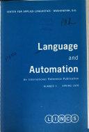 Language And Automation