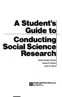 A Student's Guide to Conducting Social Science Research