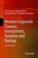 Modern Corporate Finance  Investments  Taxation and Ratings Book