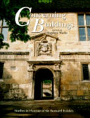 Concerning Buildings Book