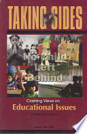 Taking Sides  : Clashing Views on Educational Issues