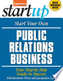 Start Your Own Public Relations Business Book PDF