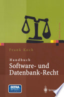 Handbuch Software- und Datenbank-Recht