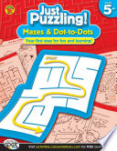 Mazes   Dot to Dots  Ages 5   8