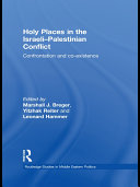 Holy Places in the Israeli Palestinian Conflict