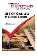 Cambridge Checkpoints VCE Text Guides  Life of Galileo by Bertolt Brecht