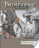 Pathfinder Roleplaying Game Beta Playtest Edition
