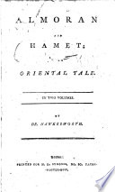 Almoran And Hamet By J Hawkesworth By Dr Hawkesworth