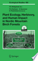 Plant Ecology Herbivory And Human Impact In Nordic Mountain Birch Forests Book PDF