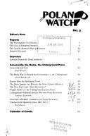 Poland Watch