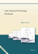 Latin Historical Phonology Workbook