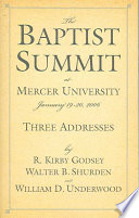 The Baptist Summit at Mercer University
