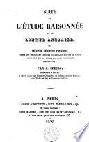 Suite De L Tude Raisonn E De La Langue Anglaise