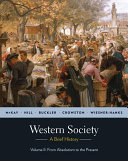 A History of Western Society  Volume II Book