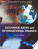 Exchange Rates and International Finance Book