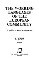 The Working Languages of the European Community