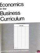 Economics in the Business Curriculum